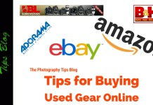 Tips for Buying Used Gear Online