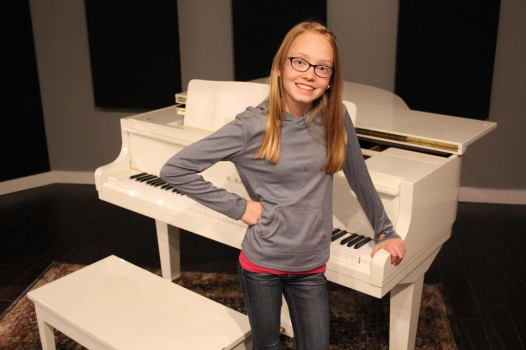the piano gal