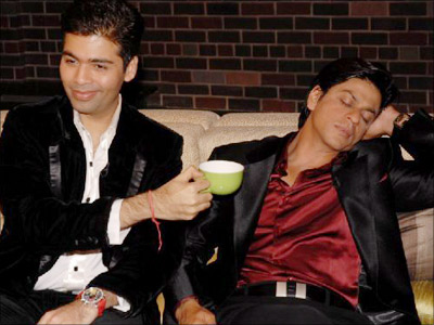 SRK taking a nap