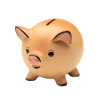 investment piggybank,yield and return