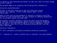 Blue Screen Of Death, Windows blue screen, windows death