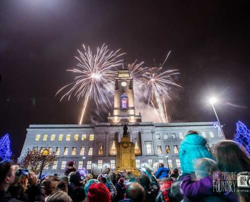 barnsley christmas lights switch on 2014