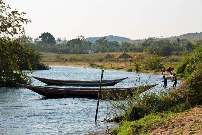 fishing village in ekewere island tanzania