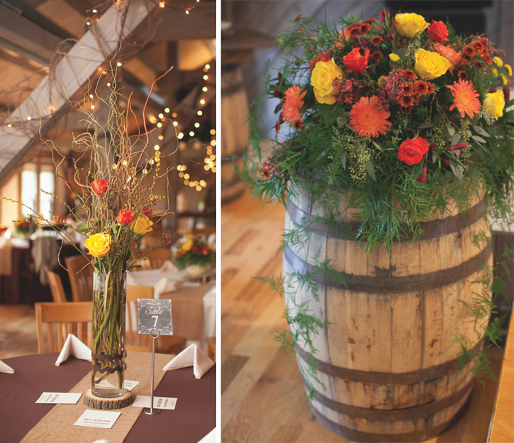 Rustic Fall Wedding Tanner Taylor The Pink Bride