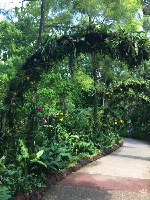 National Orchid Garden Half Arch