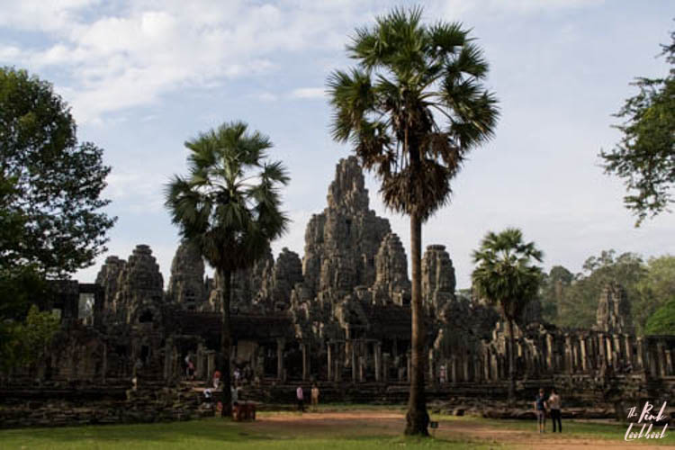 Angkor Wat Bayon Temple Entrance