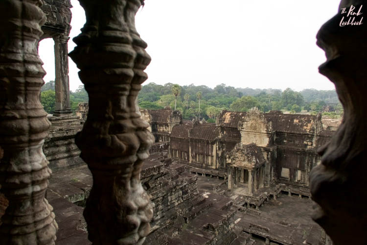 Angkor Wat Pillar View