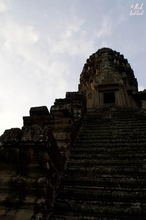 Angkor Wat Stairs Profile