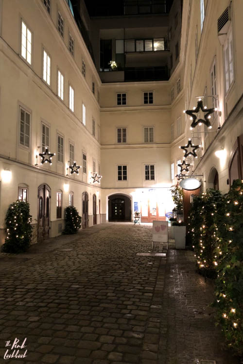 Winter Holiday Vienna Courtyard