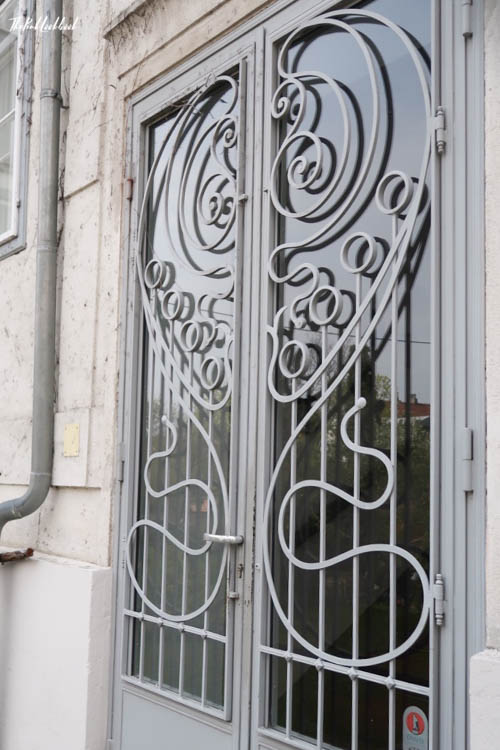 Brunn Jugendstil Back Door
