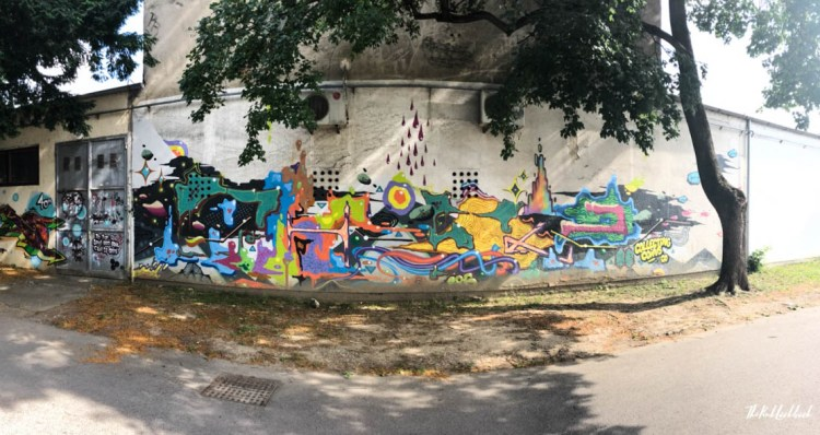 Street Art Zagreb Panorama