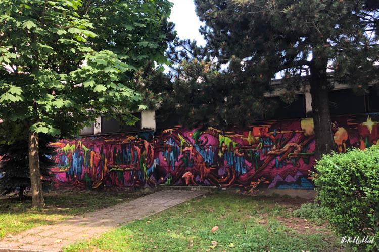 Street Art Zagreb Slime