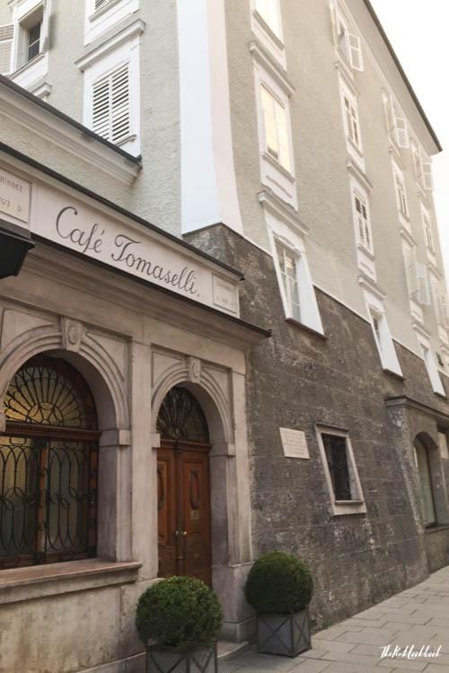 Ultimate Guide Salzburg Cafe Tomaselli