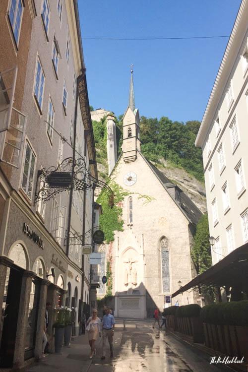 Ultimate Guide Salzburg Getreidegasse Church