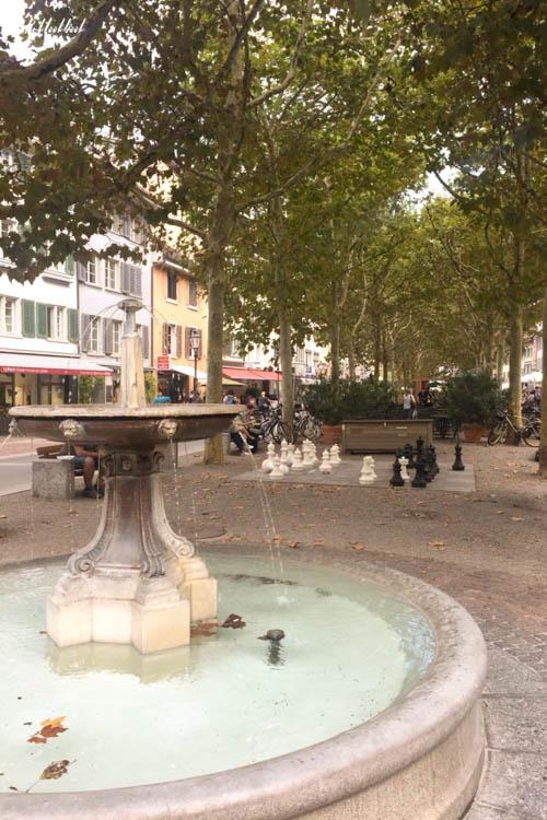 Winterthur Switzerland Day Trip from Zurich Graben Fountain