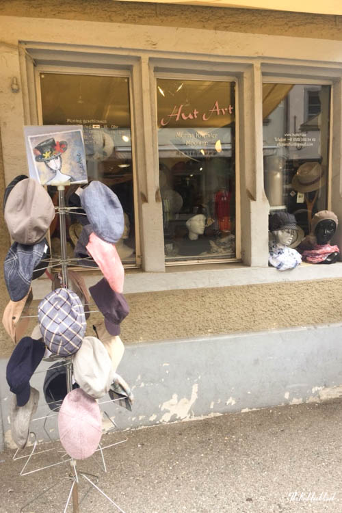 Winterthur Switzerland Day Trip from Zurich Hat Shop