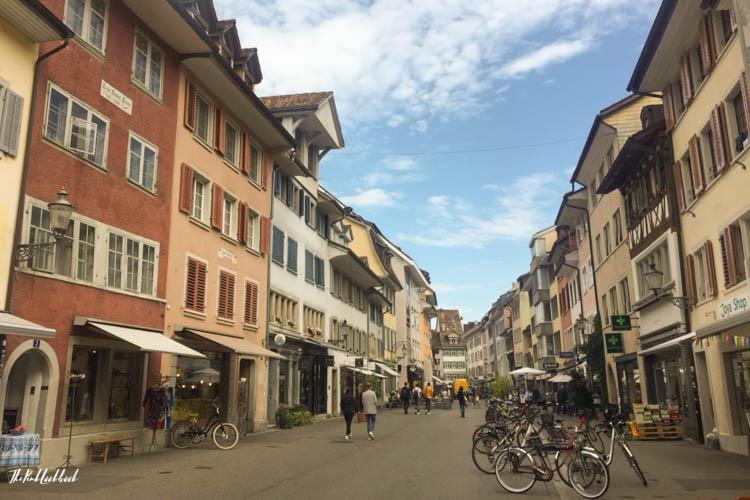 Winterthur Switzerland Day Trip from Zurich Old Town Shops