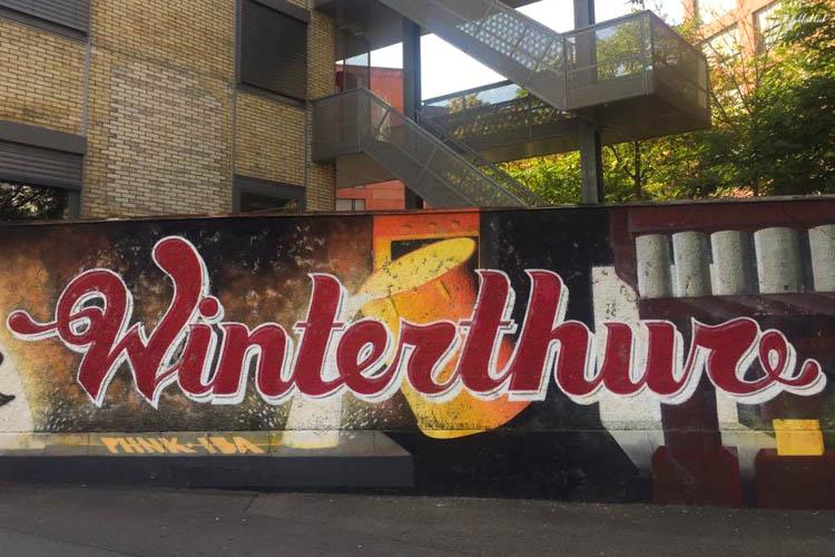 Winterthur Switzerland Day Trip from Zurich Street Art