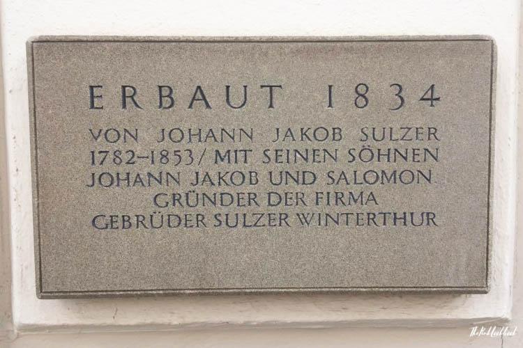 Winterthur Switzerland Day Trip from Zurich Sulzer Brothers