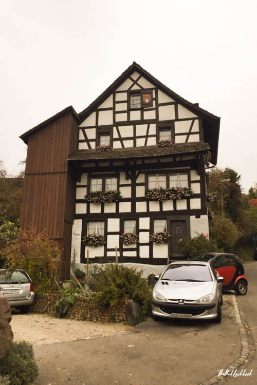 Winterthur Switzerland Day Trip from Zurich Timbered House