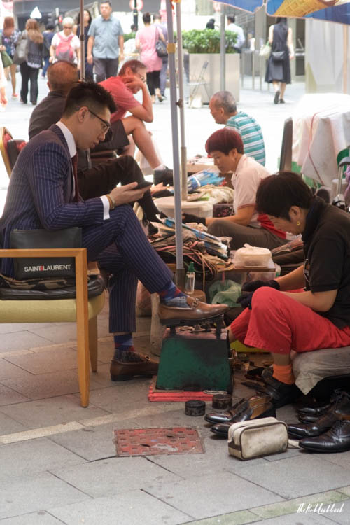 My Favourite Hong Kong Pictures Shoe Shine