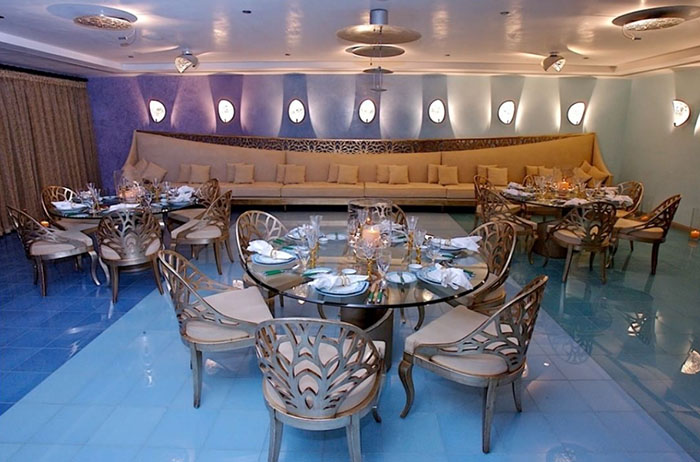 Luxe dining at Senses Restaurant. Photo from the IG of Luthan Hotel and Spa.