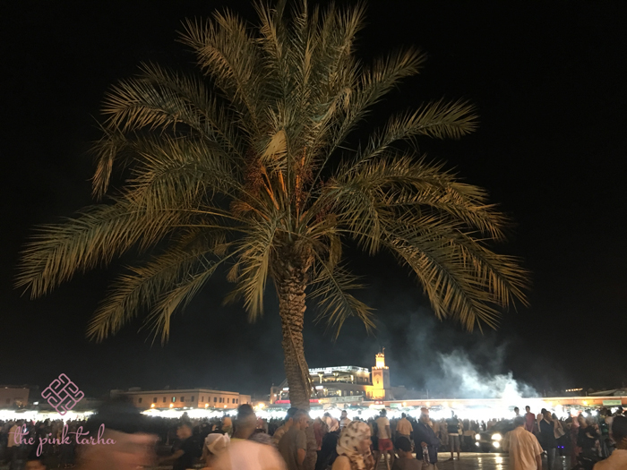 The famous Djemaa Al Fna!