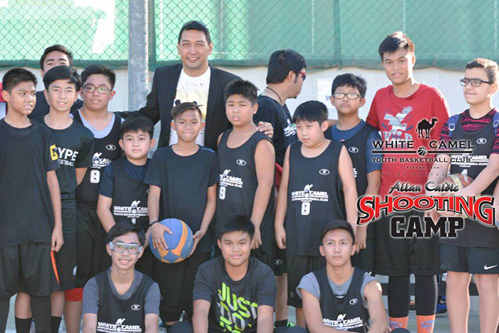 Participants in the Shooting Camp by Allan Caidic.