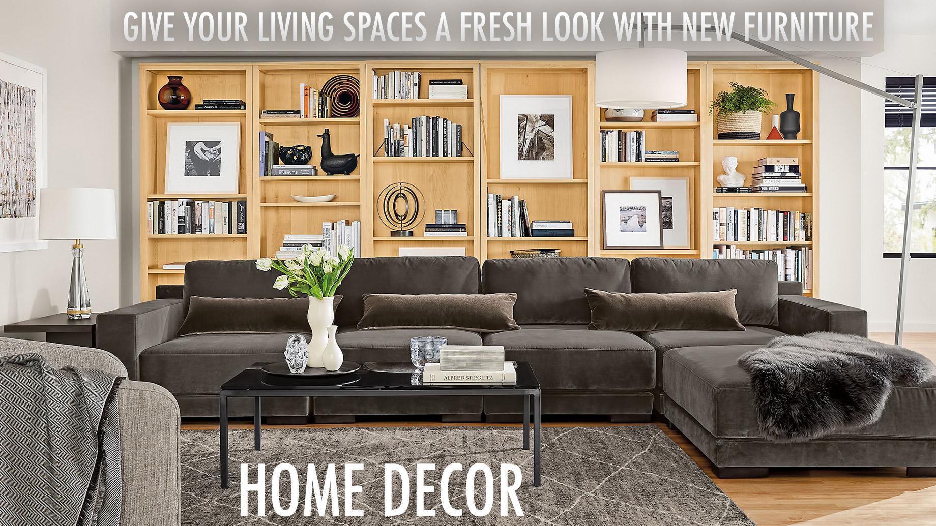 give your living spaces a fresh look