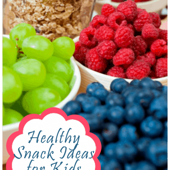Healthy and Easy Snacks for Kids and Toddlers plus a printable
