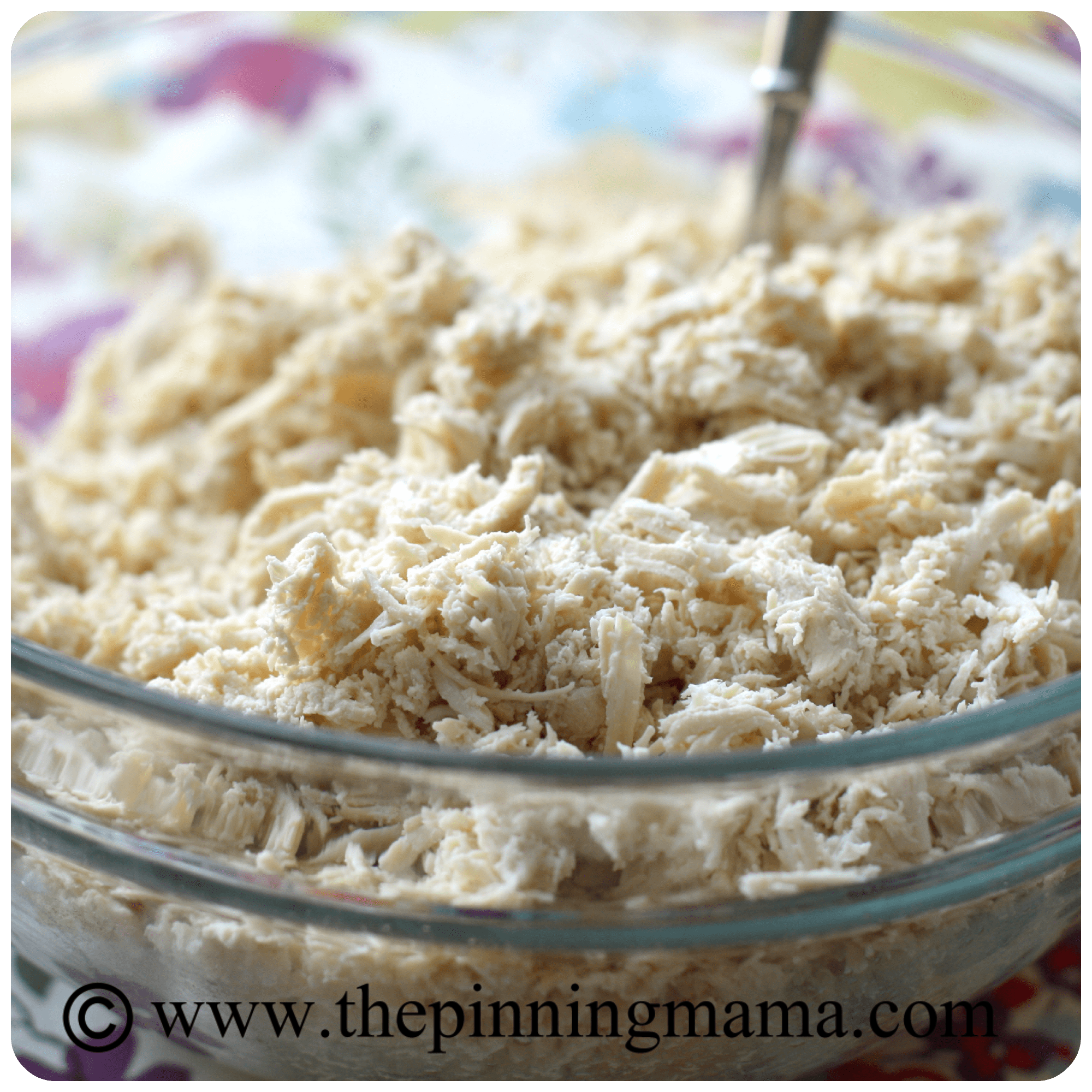 chicken salad, chicken, salad, shredded chicken, healthy, baby shower food, baby, shower, food
