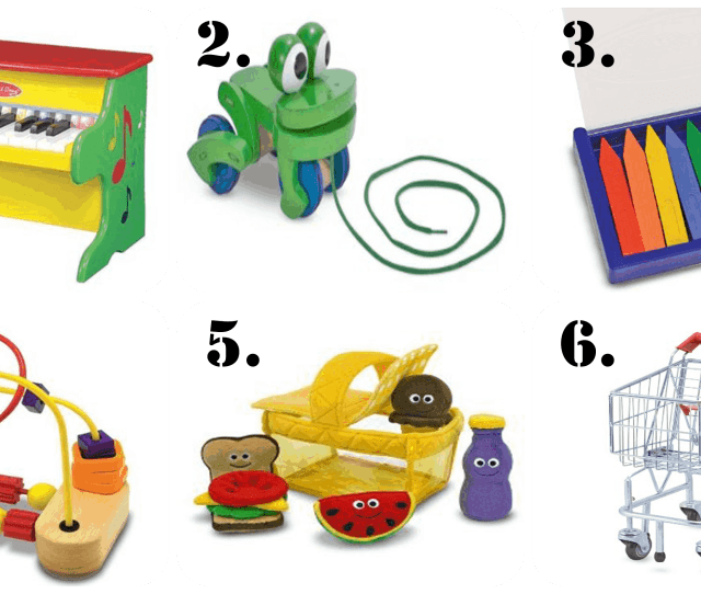 Melissa And Doug Toys Are Some Of The Best Birthday Presents For A  Year Old