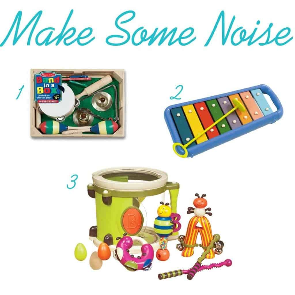 musical instrument gifts for a one year old via www.thepinningmama.com