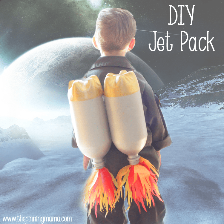 DIY Jet Pack Made with Soda Bottles by www.thepinningmama