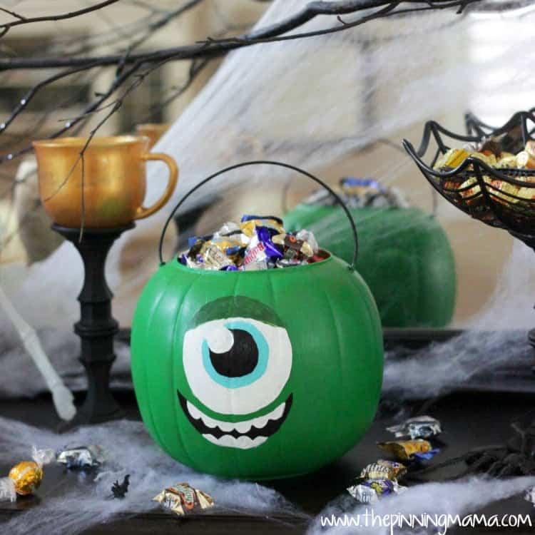 web Monsters University Trick or Treat Bucket 1