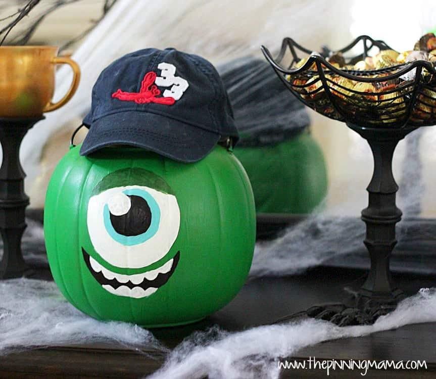 web Monsters University Trick or Treat Bucket 7