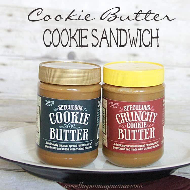 Trader Joes Cookie Butter Cookie Sandwich Recipe