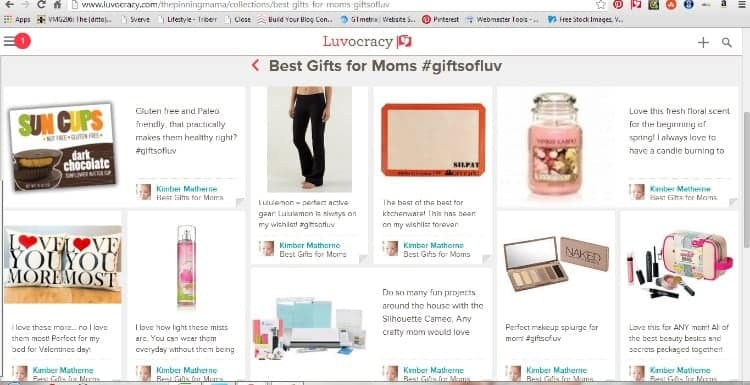 If Pinterest- Amazon- and Priceline had a baby it would be Luvocracy