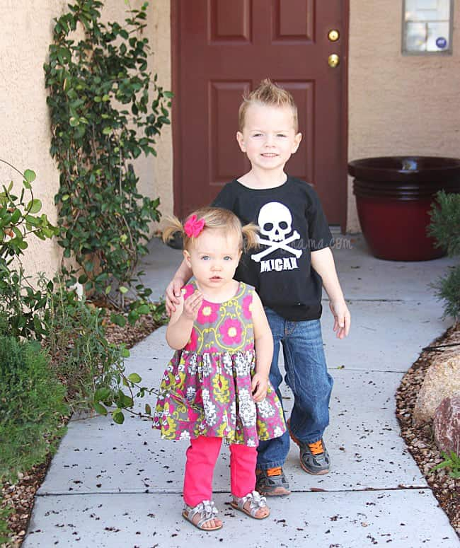 Customized Pirate Birthday Shirt with Silhouette Cameo and Heat Transfer