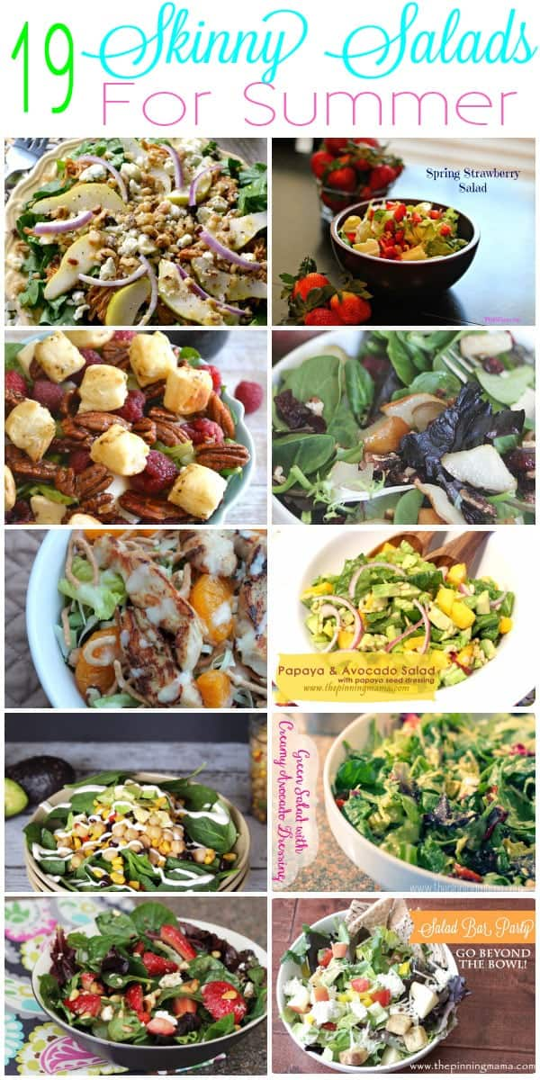 Skinny Salads for Summer