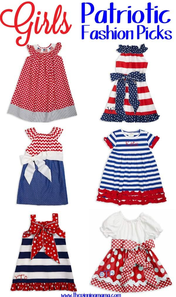 Little Girls 4th of July Outfit and Fashion Picks!