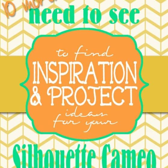 This list is AWESOME! The best blogs to find awesome Silhouette CAMEO projects, ideas, and inspiration - broken down by project type.