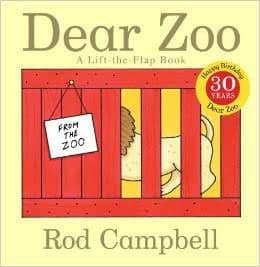 Dear Zoo: A Lift-the-Flap Book: Rod Campbell