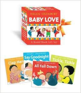 Baby Love: A Board Book Gift Set (All Fall Down; Clap Hands; Say Goodnight; Tickle, Tickle) by Helen Oxenbury