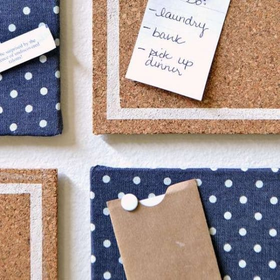 DIY Memo Board. Cute & Easy! Perfect craft for a teen!