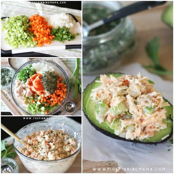 How to Make - Buffalo Ranch Chicken Salad. This easy recipe is so delicious! It is packed with flavors and you can make it as spicy as you want. As a bonus, it is Paleo, Whole30 Compliant, gluten free, dairy free, and just plain tasty whether you are following a special diet or not.