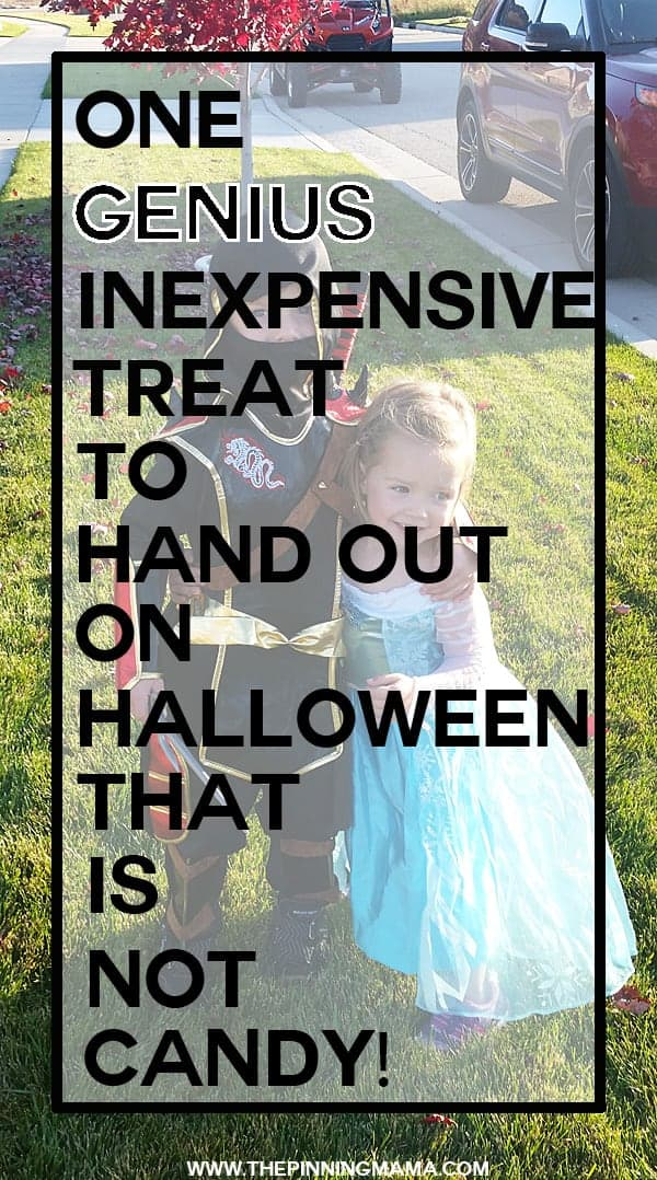 Love this idea for the kids on Halloween... And it is actually affordable!