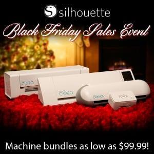 Black Friday 2015 - Silhouette Machine Bundles COUPON CODE PINNING