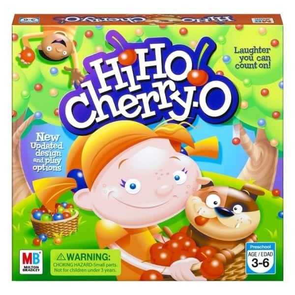 Board Games for Preschoolers: Hi Ho Cherry O