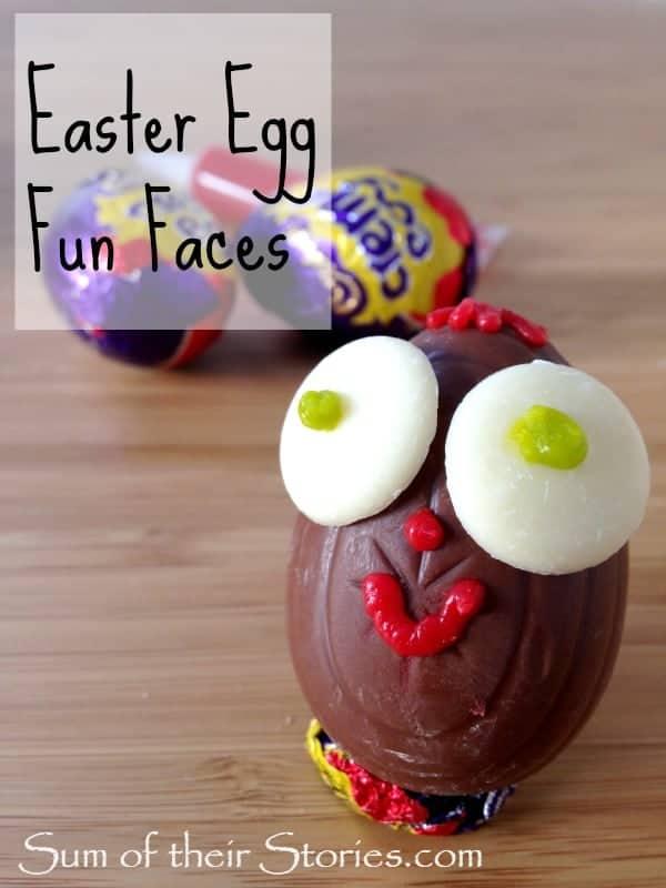 easter egg fun faces